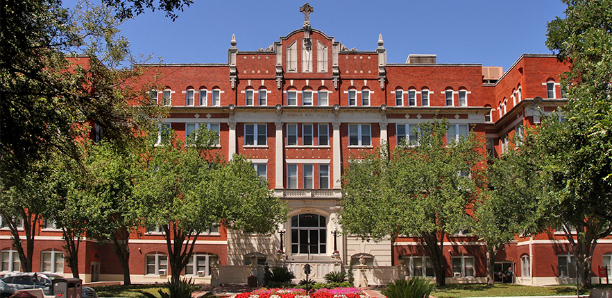 UIW administration building