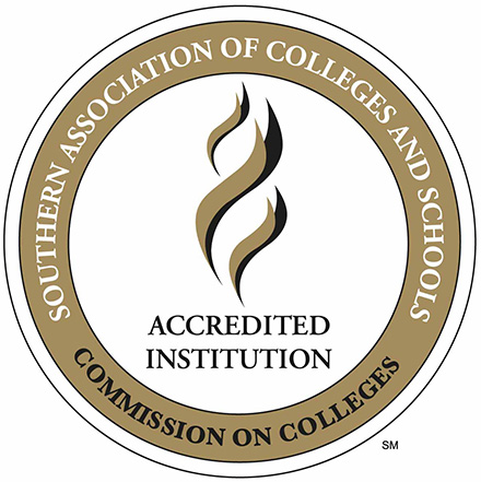 Southern Association of Colleges and Schools Commission on Colleges Stamp of Accreditation