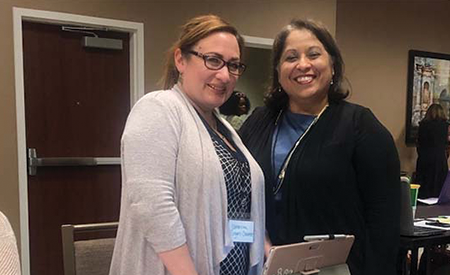 Catherine Rogers-Casarez and Sandra L. Guzman Foster, Ph.D.