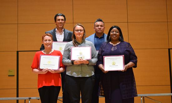Doctoral award winners