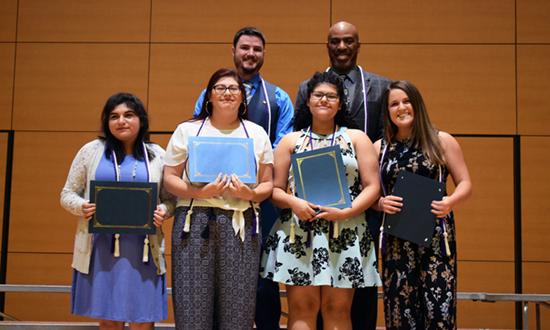 Kappa Delta Epsilon award winners