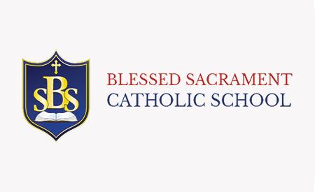 Blessed Sacrament School Logo