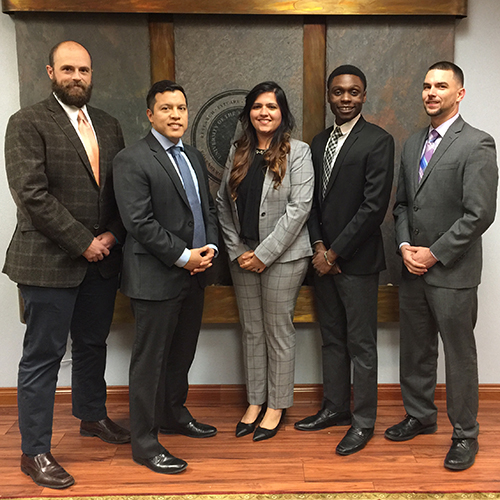 MHA Students win Case Competition