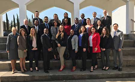 MHA students attend Healthcare Landscape Conference