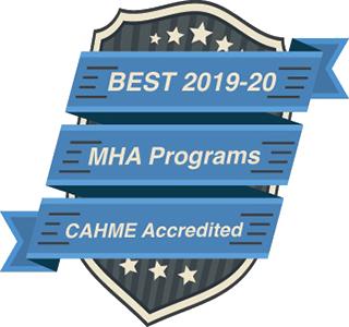 MHA top programs graphic