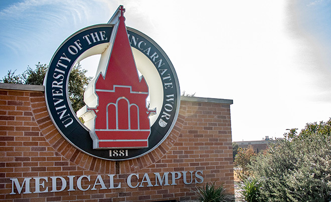 School of Osteopathic Medicine Sign
