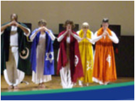 A Dance Featuring Numerous Different Religions